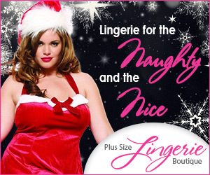 Sexy Holiday Plus Size Lingerie 12W to 44W